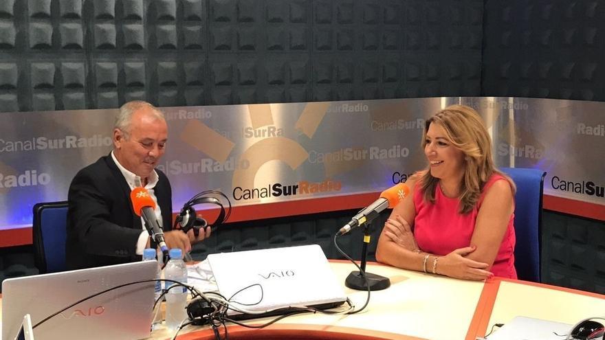 """Susana Díaz, convencida de que el Gobierno quiere pasar de nuevo """"un año en blanco"""" con la financiación autonómica"""