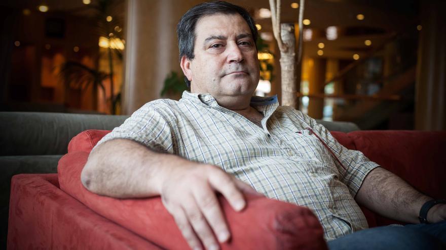 Jorge García, presidente de MHUEL. Foto: Juan Manzanara