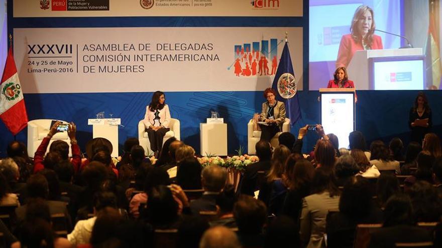 La ministra de la mujer asume el reto de liderar la Comisión de Mujeres de la OEA