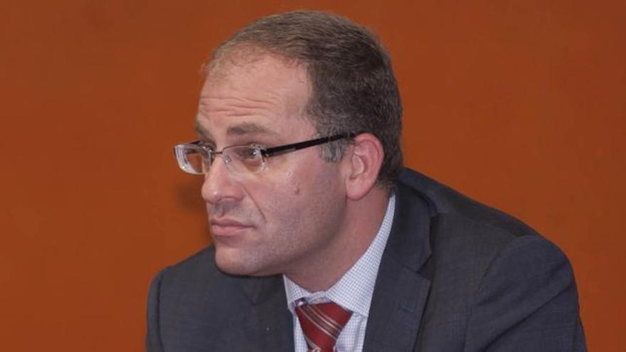 El juez César Romero Pamparacuatro.