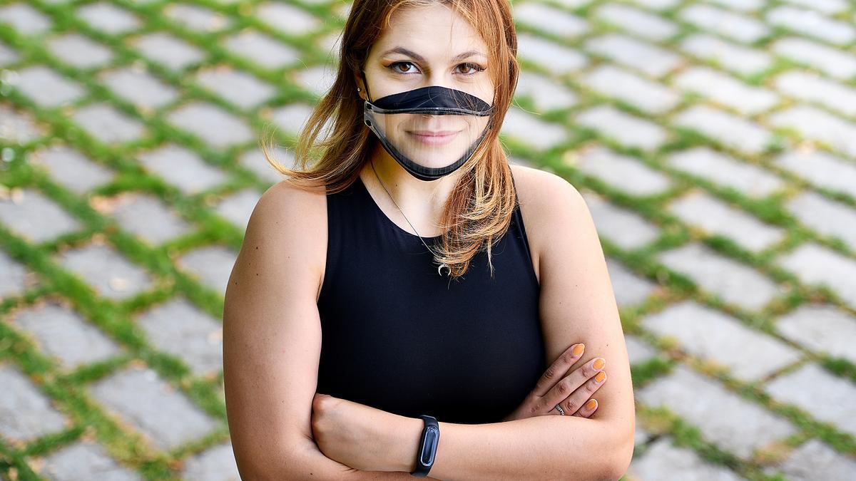 Irene Navajas, en el Campus Ciutadella de la UPF
