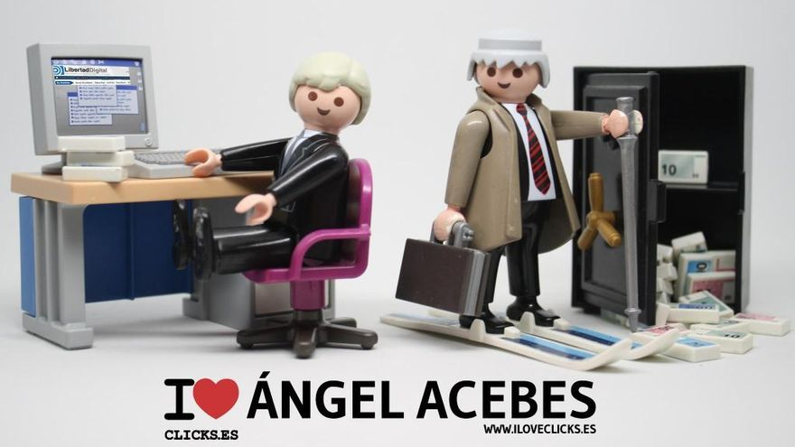 I love Ángel Acebes