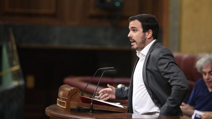 Garzón defenderá mañana en el Congreso la reforma para despenalizar los ultrajes al Rey y las ofensas a la religión
