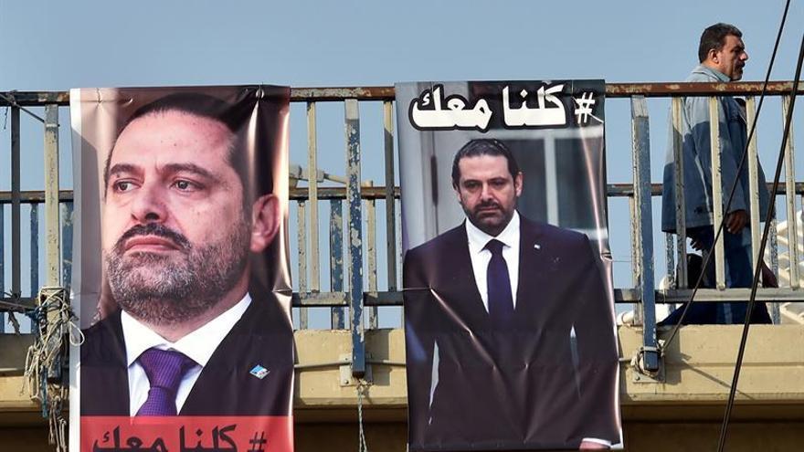 Hariri anuncia que volverá al Líbano en dos días