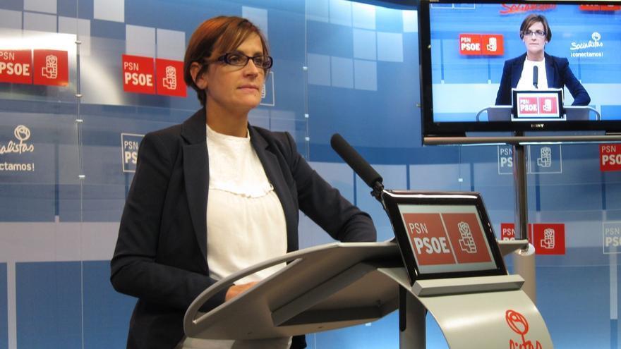 """María Chivite (PSOE), sobre la reunión Zapatero-Iglesias: """"Cada uno que se reúna con quien quiera"""""""