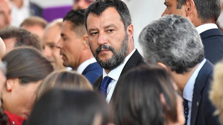 El líder ultraderechista italiano, Matteo Salvini, asegura que firmará otra prohibición contra el Open Arms.