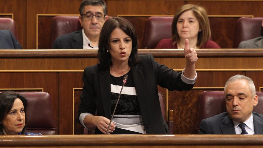 """Lastra dice que el PSOE """"tiene las puertas abiertas"""" a todos los progresistas, tras las diferencias entre IU y Podemos"""