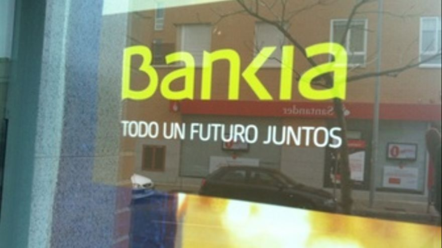 Sede de Bankia. (EUROPA PRESS)