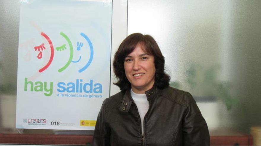 Alicia Pérez Bravo es jefa de la Unidad contra la Violencia sobre la Mujer.
