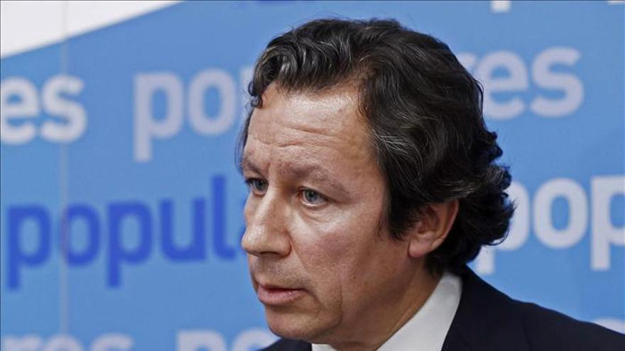 Floriano dice que el PSOE sólo defiende la presunción inocencia de los socialistas