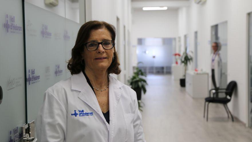 Magda Campins, jefa de Epidemiología del Hospital Vall d'Hebron.
