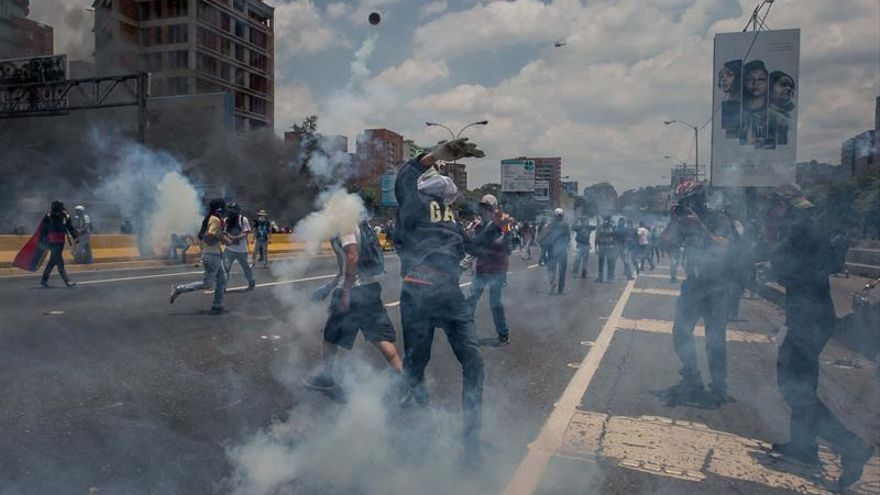Venezuela ha registrado 538 arrestos durante protestas opositoras, según ONG