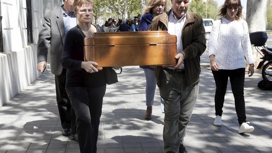 Valencia devuelve los restos del represaliado Alcorisa en un acto de justicia