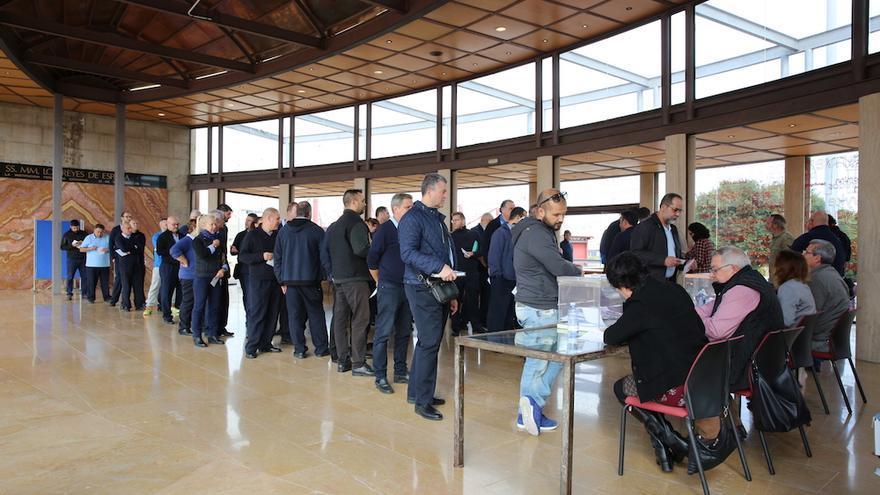 Votación del régimen de libranza del sector del taxi en Infecar.