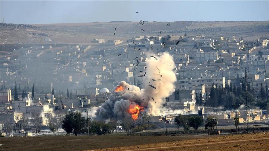 La coalición internacional lanza 24 ataques contra el EI en Siria y en Irak