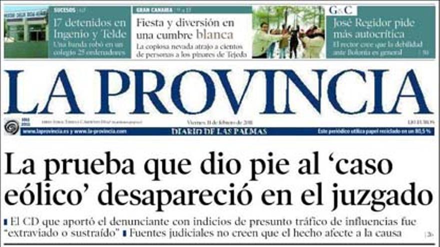 De las portadas del día (11/02/2011) #8