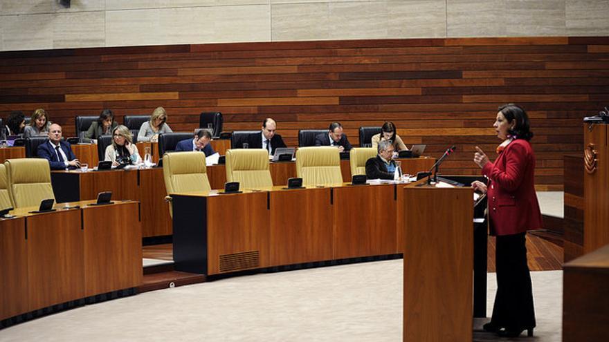 Pilar Blanco-Morales Asamblea Extremadura