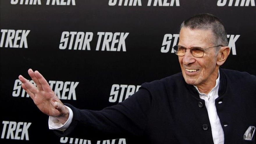"""Fallece Leonard Nimoy, el carismático Spock de """"Star Trek"""""""