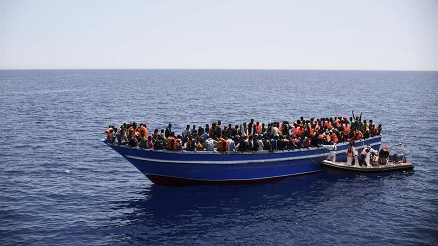Unos 4.100 emigrantes rescatados en el Mediterráneo Central en 24 horas