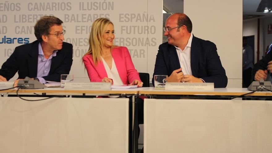 """Pedro Antonio Sánchez: """"Los españoles han hablado alto y claro, pido responsabilidad al resto de los partidos"""""""