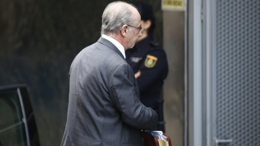 La Audiencia Nacional vuelve a rechazar la prisión de Rato porque no ha intentado fugarse al viajar a Suiza