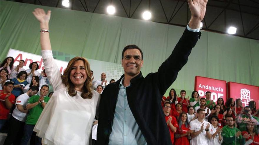 """Sánchez propone a Díaz forjar """"una nueva alianza con el resto de España"""""""