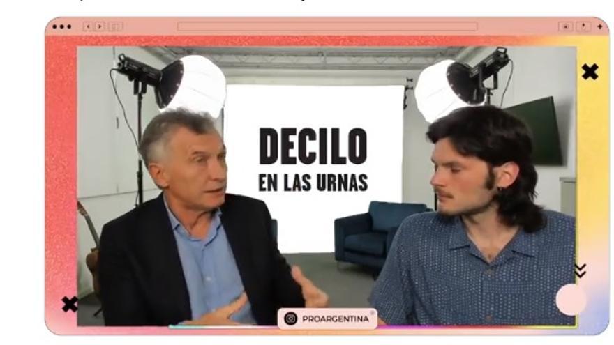 Macri apareció en Twich y calificó al de Alberto Fernández como