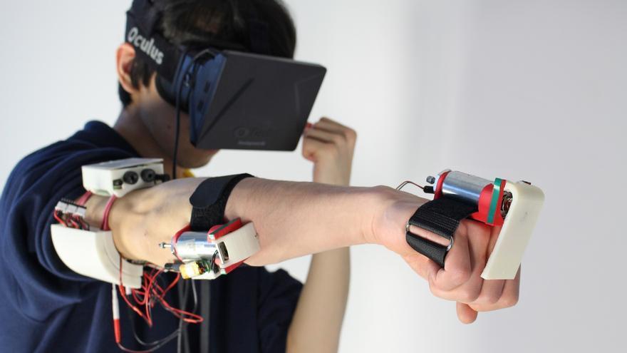 La realidad virtual que se toca y se siente