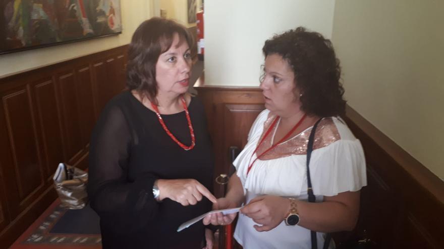 Reunión con la consejera de Educación, Soledad Monzón.