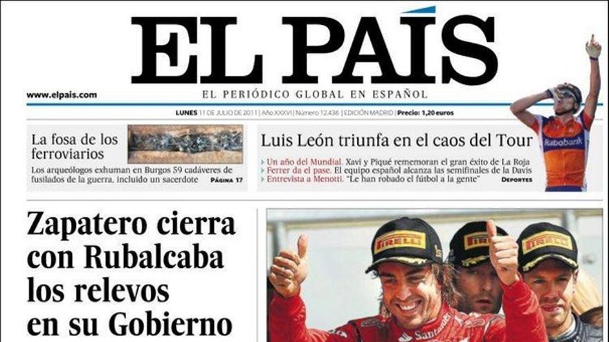 De las portadas del día (11/07/2011) #6