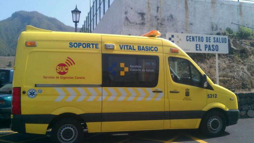 En la imagen, una ambulancia del Servicio de Urgencias Canario.