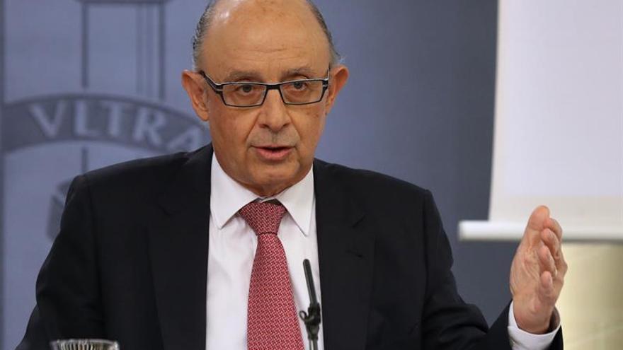 Montoro: No vamos a hacer un modelo de financiación contra las CCAA del PSOE