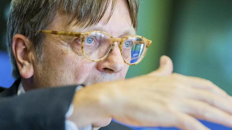 """Verhofstadt defiende en Londres una """"gran revisión"""" de la Unión Europea"""