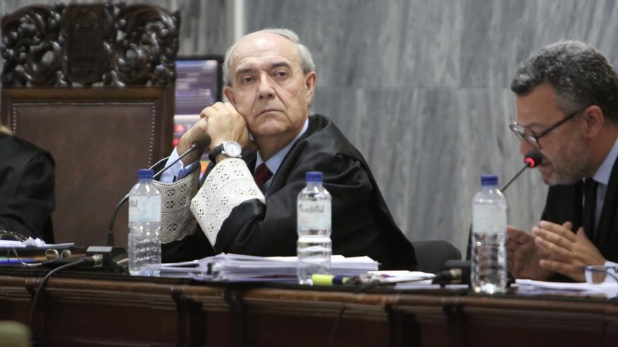 El fiscal Vicente Garrido en el juicio contra Salvador Alba.