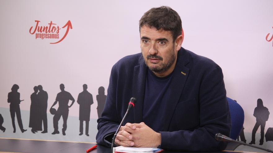 Rafa Esteban, presidente del grupo parlamentario socialista