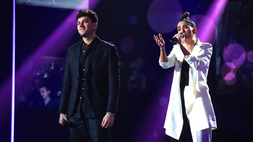 Javy y Anaju, en la gala 4 de OT 2020