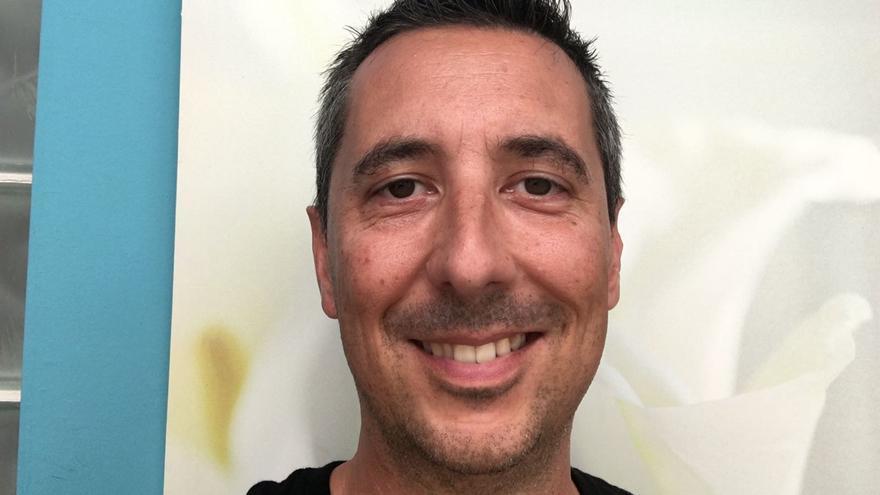 Víctor Morín, miembro del comité de empresa de Estibadores de Santa Cruz de Tenerife