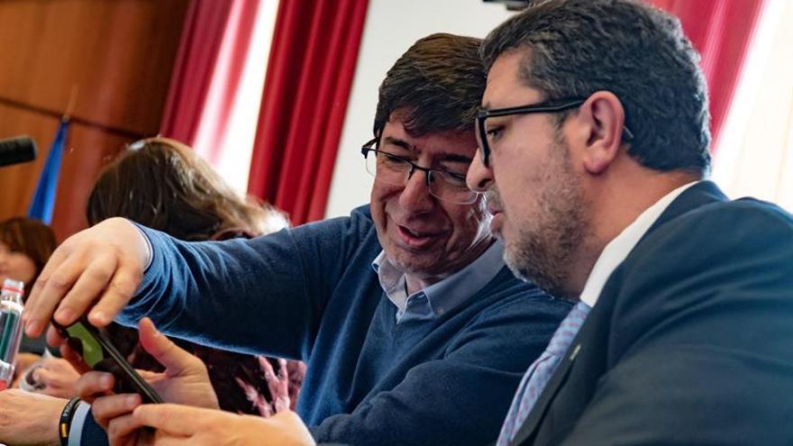 La Junta de Portavoces de Andalucía ratifica que Moreno será investido el día 16
