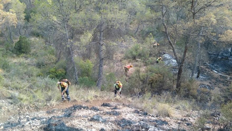 Incendio en Lietor, Albacete