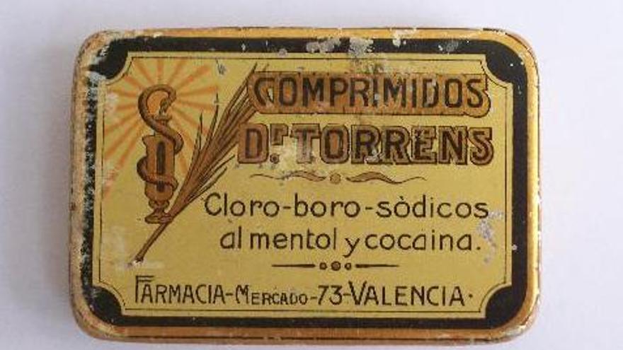 Comprimidos con cocaína del doctor Torrens de una farmacia de València.