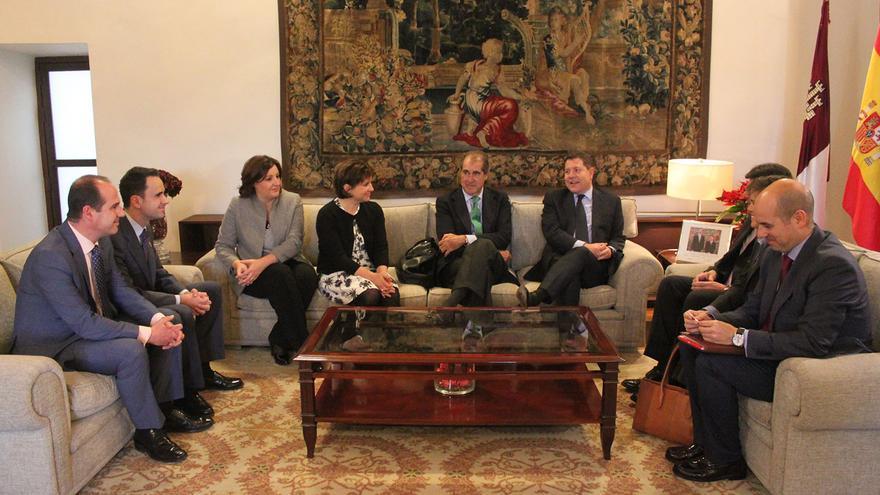 Reunión de responsables de la empresa con el Gobierno de Castilla-La Mancha