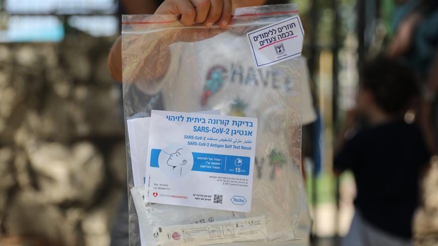 Israel registra récord diario de contagios de covid-19 durante la pandemia