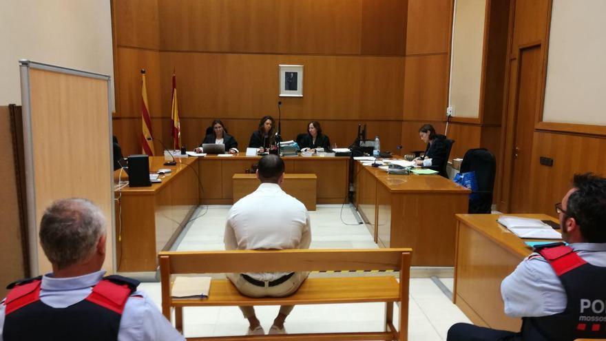 El acusado, frente al tribunal