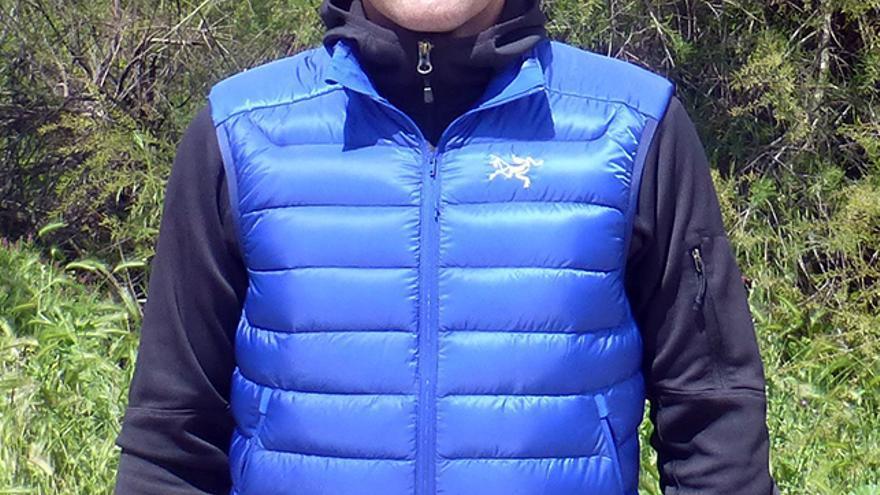 chaleco de plumón, Arcteryx