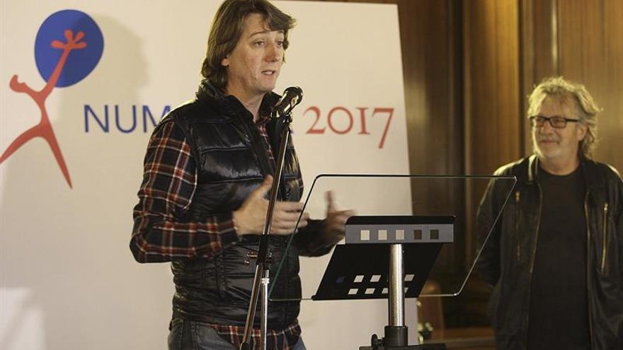 """Mariscal diseña """"un grito"""" como logotipo del Numancia 2017"""