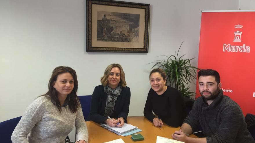 Reunion Concejala Servicios Sociales y Asociación de Gitanas Feministas por la Diversidad