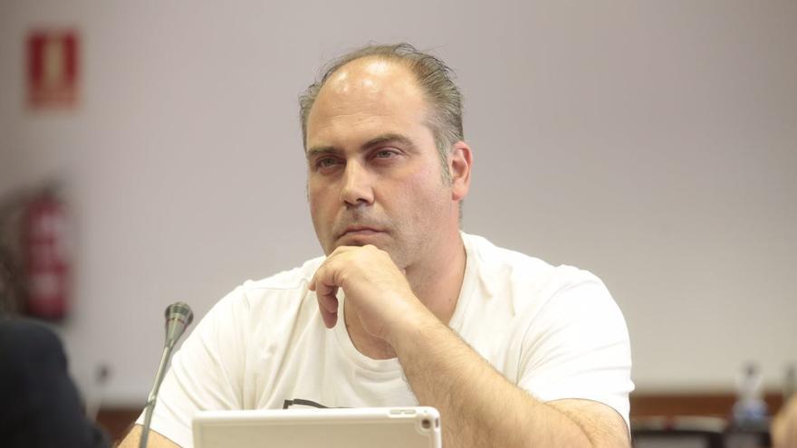 El senador de ECP Joan Comorera (ICV).