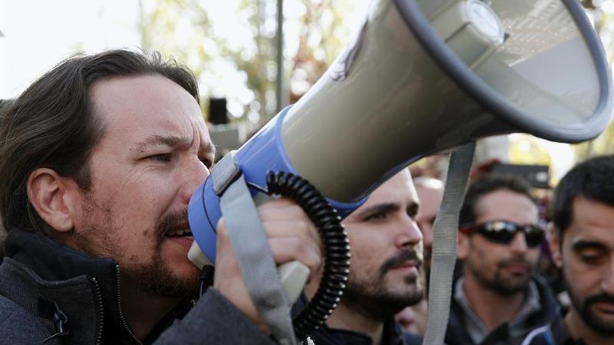 Iglesias y Garzón exigen a Gas Natural que no permita muertes por cortes de luz
