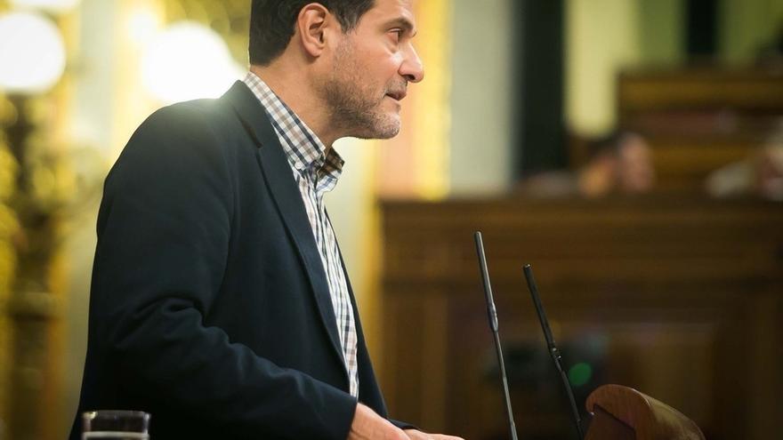 El diputado de Unidos Podemos, Josep Vendrell