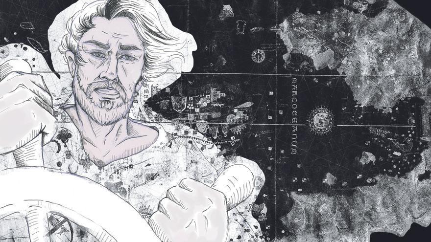 Ilustración de Juan de la Cosa. | ELENA IBÁÑEZ